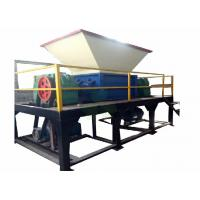 Wholesale Large Plastic Industrial Shredder Machine , Plastic Recycling Shredder 22×2kw from china suppliers