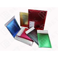 Wholesale High Gloss Bubble Wrap Mailing Envelopes , Blue / Gold Bubble Mailers from china suppliers