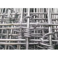 Wholesale Farm Guard Cattle Wire Fence Zinc Coating With 0.8-2m Height , Rust Resistance from china suppliers