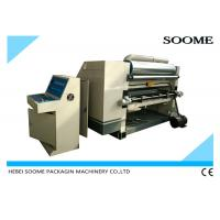 China Single Face Automatic Corrugation Machine With Oil And Steam Controlling on sale