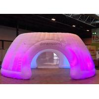 Wholesale Logo Printing Inflatable Tent With LED Light , Stretch Tent For Giant Event from china suppliers