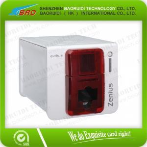 China Evolis  Zenius + Card Printer  visiting card printing machine on sale