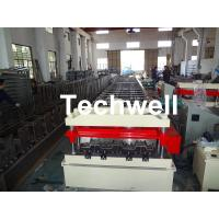 Wholesale Cr12 Automatic Galvanized Steel Sheet Floor Deck Roll Forming Machine PLC frequency control from china suppliers