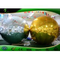 Wholesale Outdoor Super Inflatable Mirror Ball / Mirror Polished Decorative Ball For Advertising from china suppliers