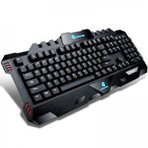 Wholesale Black Multimedia Mechanical Keyboard Luminous Volume Knob 104 Keys from china suppliers
