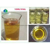 China Yellow Mixed Liquid Injectable Anabolic Testosterone Steroids TMT Blend 375 For Fat Loss Cutting Cycle for sale