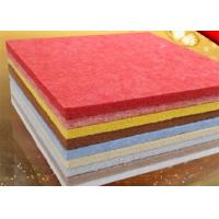Wholesale Theater Polyester Fiber Acoustic Panel with Needle Punched from china suppliers