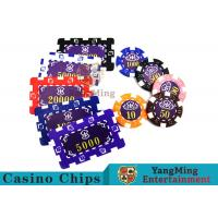 Wholesale Aluminum Dedicated Casino Poker Chip Set With UV Anti - Release Function from china suppliers