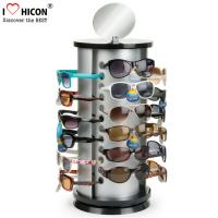 Wholesale Counter Top Sunglasses Display Case Round Shape Metal Eyeglass Display Rods from china suppliers