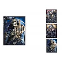 Buy cheap 3 Images Scary Skull Heads 3D Lenticular Flip 30x40cm For Home Decoration from wholesalers