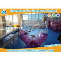 Wholesale Popular Size 1.2m / 1.5m /1.8m TPU Inflatable Bubble Football / Soccer For Fun Games from china suppliers