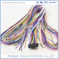 Wholesale ROHS 12-24V Colorful Wire Backup Camera Cable 16 Pin Terminal Connector from china suppliers
