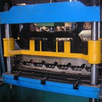 China 8-12m / Min Roof Panel Roll Forming Machine , Metal Glazed Tile Forming Machine for sale