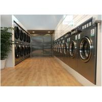 Wholesale Hard Mount Industrial Size Washer And Dryer , Commercial Stackable Washer Dryer Coin Operated from china suppliers