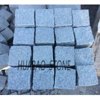 Wholesale Grey Granite tile G602 cube stone paving stone for indoor outdoor flooring from china suppliers