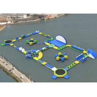Wholesale Exciting Backyard Inflatable Water Park Rentals , Blow Up Water Park For Adults from china suppliers