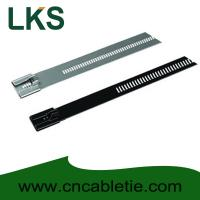 Wholesale 7×350mm Ladder Type Stainless Steel Cable Tie Coated Ladder Type Stainless Steel Cable Tie from china suppliers