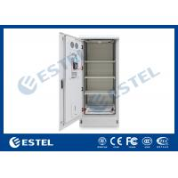 China Four Shelf Outdoor Battery Cabinet With Cooling for sale