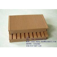Wholesale 150mmx25mm solid wood plastic composite decking from china suppliers