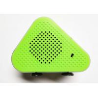Wholesale Green 5W * 2 Portable Bluetooth Wireless Speakers Micro USB ABS Fabric A2DP / AVRCP / TF from china suppliers