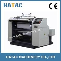 Wholesale Stable Function Boarding Card Roll Jumbo Slitting Machine,Thermal Paper Slitter Rewinding from china suppliers