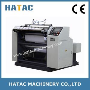 China Thermal Paper Slitter Rewinder Machine,Automatic POS Paper Slitting Machinery on sale