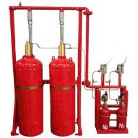 Buy cheap Red Cylinder FM200 Gas Fire Suppression System Easy And Convenient Installation from wholesalers