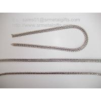 Wholesale Supply jewelry steel foxtail chains for necklace and bracelet from china suppliers