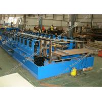 Quality Automatic Sheet Metal Forming Machine , Goods Shelves Steel Frame Roll Forming Machine for sale