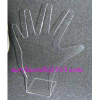 Acrylic ring display stand, clear PMMA hand shape finger ring display rack for sale