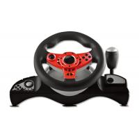 China PS4 Wired Video Game Steering Wheel with Big Size Shape with Vibration on sale