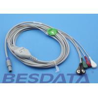 Wholesale 1.5m Creative Compatible ECG Cables And Leadwires Snap Sensor Type from china suppliers