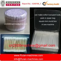 Wholesale Full automatic Cotton swab making machine with drying,packing in one machine from china suppliers