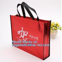 Buy cheap Customized printing recycled promotional shopping tote lamination pp non woven from wholesalers