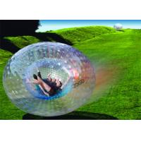 Wholesale Amazing Outdoor Inflatable Toys , Giant Human Inflatable Zorb Ball EN71 from china suppliers