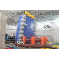 Wholesale Gaint Red Inflatable Rock Climbing Mountain , Inflatable Amusement Park from china suppliers