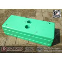 Wholesale Light Green Temporary Fencing Block Injection Molding | China Temp Fencing Block Factory from china suppliers