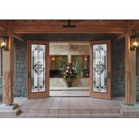 China Pearly L Art Glass Panels Thermal Sound Insulation Handcrafted Vogue Timeless Design on sale