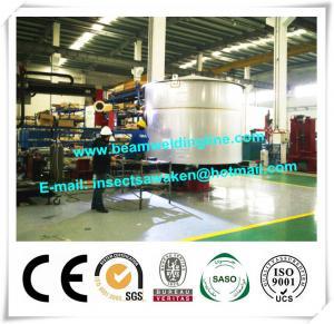 Automatic Welding Machine Revolving Table / Floor Turntable Positioner