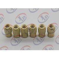 Wholesale Small Machine Parts Plastic Insert Parts Brass Nuts With Blind Via Hole from china suppliers