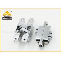 Buy cheap 180 Degree Adjusted Invisible Door Hinges Support Copper / Brass Finishing from wholesalers