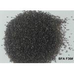 China Brown Aluminum Oxide Blasting Media Non Ferrous Contamination BFA F12# - F220# For Sandblasting for sale