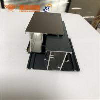 New design different surface treatment aluminum extrusion profiles for windows and doors for sale