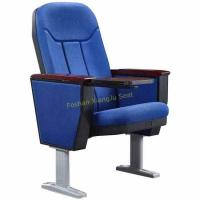 Buy cheap Opera Music Hall Church Fold Up Auditorium Chairs With Aluminium Legs Customized from wholesalers