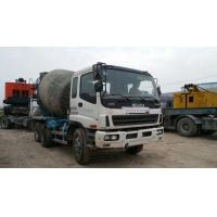 China USED Isuzu concrete  Mixer  truck with 10PE1 on sale