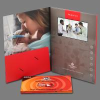 Wholesale Digital Lcd Media Video Booklet Greeting Video Card With Wifi / Touch Screen from china suppliers