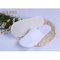 Wholesale 3mm EVA Nap Cloth Disposable Spa Slippers For Budget Hotel Bedroom Slippers from china suppliers