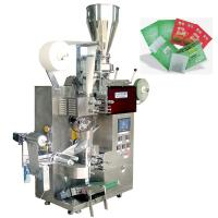 Wholesale Automatic Filter Green Tea Tea Packaging Machine With Outer Envelope , SUS304 Material from china suppliers