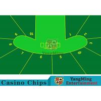 Wholesale 2400*1400mm Touch Comfort Casino Table Layout Using Three Anti-Free Cloth from china suppliers