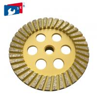 China 125mm Diamond Cup Wheel with Alloy Material for Grinding Granite Marble Floor on sale